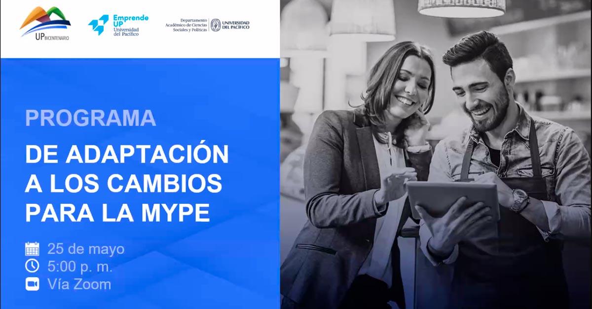 Programa de adaptación a los cambios para la mype