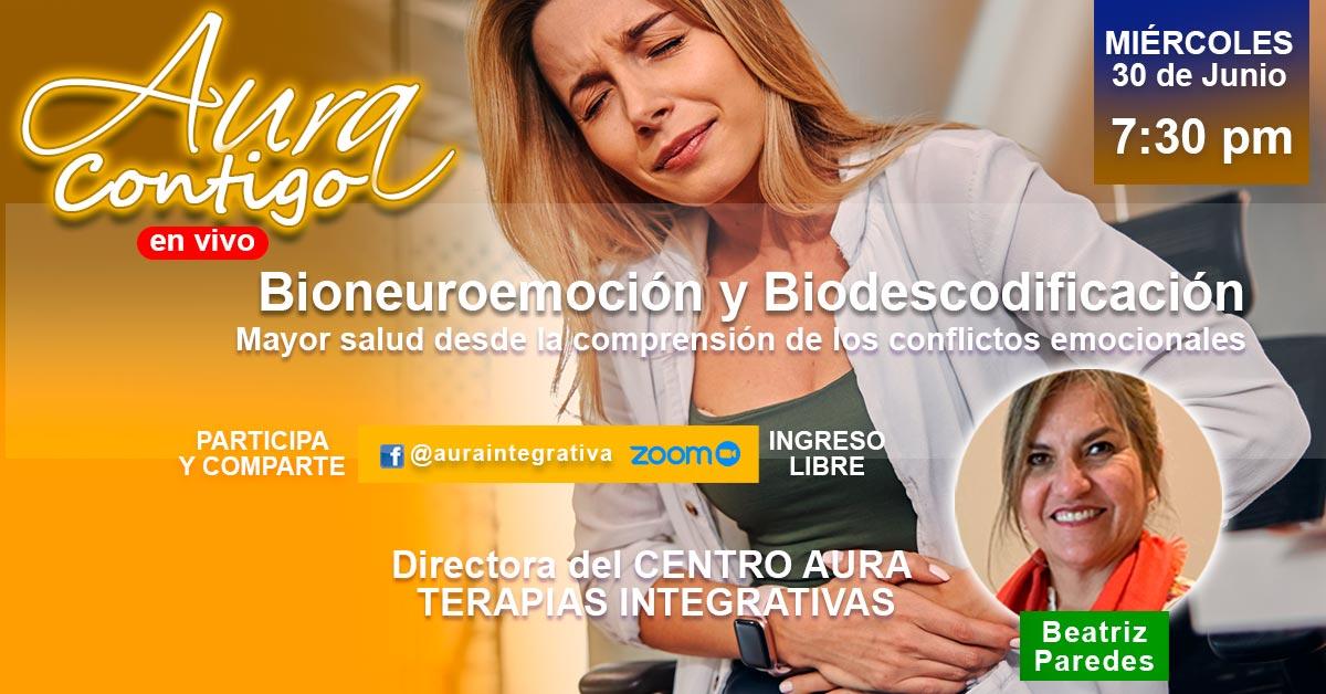 Biodescodificación y Bioneuroemoción en Aura Contigo