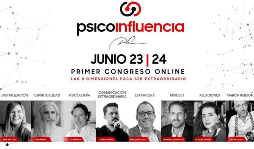 Psicoinfluencia Congreso online Madrid 23 y 24 de junio 2021
