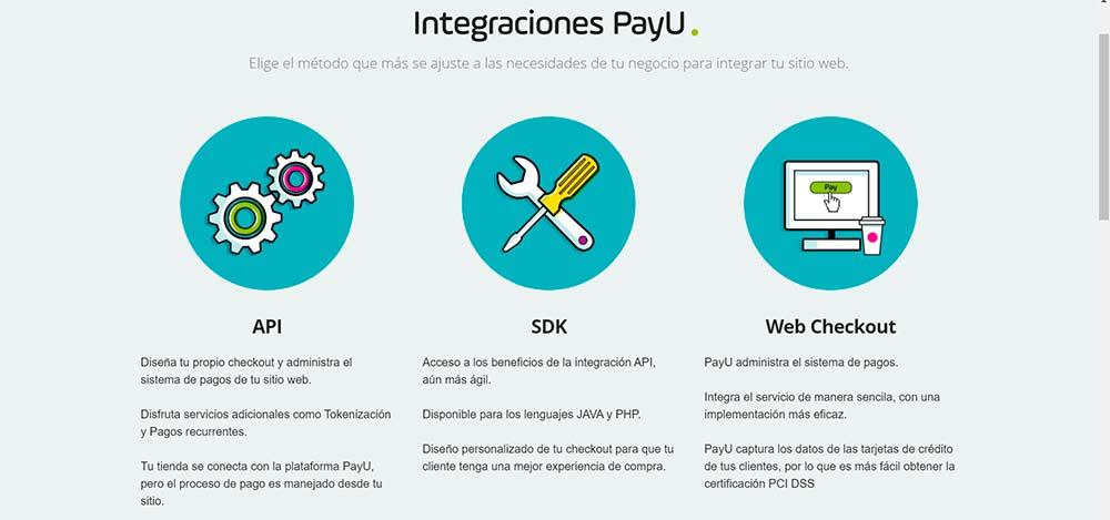 Integraciones PayU para cobranzas digitales