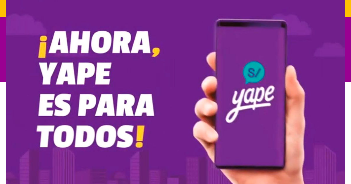 Ahora Yape de BCP es para todos - Conoce más en Yapeando.pe